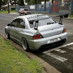#Mitsubishi #Evo #Lancer #Modified #Slammed