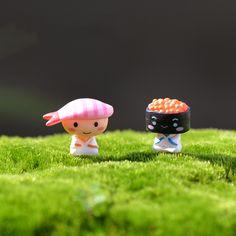 Mini lovely Eel sushi Anime Action Figure miniature garden bonsai decoration figurine statuette toys DIY accessories ornaments