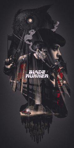 Blade Runner, by John Guydo.Blade Runner, by John Guydo.Blade Runner, by John Guydo. Blade Runner Art, Blade Runner Poster, Blade Runner 2049, Blade Runner Wallpaper, Rachel Blade Runner, Best Movie Posters, Movie Poster Art, Cool Posters, Film Posters