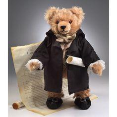 George Washington Teddybär - Teddy-Fabrik - Der offizielle HERMANN-Coburg Teddy-eShop