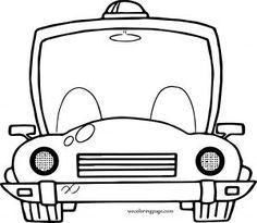 Kamyonet Boyama Sayfası Araba Boyama Sayfaları Truck Car Coloring