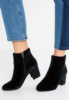 e8ec3c5ba08 16 Best shoes images | Black ankle booties, Black ankle boots, Black ...