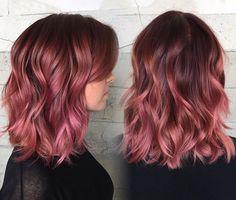 m u t e d raspberry 😋 Pulp Riot Hair - Samantha Dail Gold Hair, Pink Hair, Cabelo Rose Gold, Pulp Riot Hair, Dye My Hair, Grunge Hair, Crazy Hair, Gorgeous Hair, Hair Looks