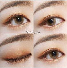 Make-up Asian Grunge 33 + Ideen - Makeup Tutorial Smokey Asian Makeup Looks, Korean Makeup Look, Korean Makeup Tips, Korean Makeup Tutorials, Asian Eye Makeup, Simple Eye Makeup, Makeup Goals, Makeup Inspo, Makeup Inspiration