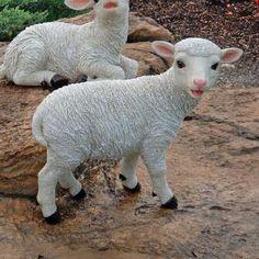 Yorkshire Lamb Garden Statue: Standing Lamb $39.95