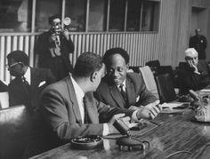 Gamal Nasser and Kwame Nkrumah
