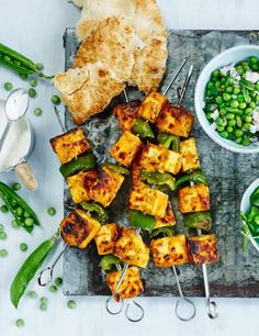 Check out our seasonal vegetarian recipe using peas and Indian cheese, paneer. For perfectly cooked paneer, make sure you have a crunchy, charred outside with a soft and succulent middle. Divine!