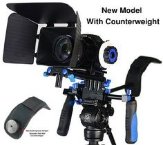 StudioFX DSLR RIG With Follow Focus And Matte Box Shoulder Mount Rig with COUNTER WEIGHT Camcorder Steady Video Cam Camera: Amazon.ca: Camer...