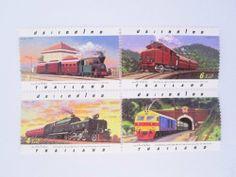 Beautiful Thai Stamps Collecting 1997 Centennial Anniversaryof the State Railway of Thailand by SUWANNABHUMI. $27.97