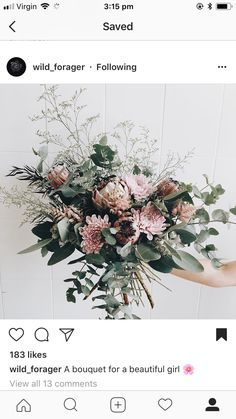 Love these florals! March Wedding Flowers, September Flowers, Cheap Wedding Flowers, Floral Wedding, Arch Decoration, Bride Bouquets, Industrial Wedding, Florals, Marie