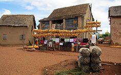 Dans un petit village des Hauts plateaux