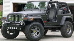 Jeep Wrangler Unlimited. 2 door soft top.