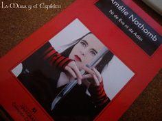La musa y el espíritu: Crítica: Ni de Eva ni de Adán. Amélie Nothomb.
