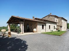 Between Orvieto and Todi we propose you a farm with two farmhouse, other buildings, pool and land.