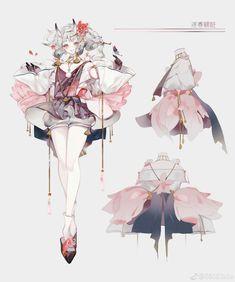 Fantasy Character Design, Character Design Inspiration, Character Concept, Character Art, Concept Art, Art And Illustration, Character Illustration, Beautiful Sketches, Anime Art Girl