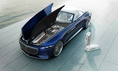 Mercedes-Maybach Vision 6 Cabriolet  |   News automobiles : Asphalte.ch