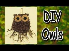 DIY Owl Decoration - A Gift Idea - YouTube