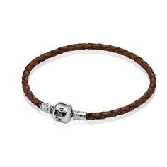 Pandora Armband Braun #Leder