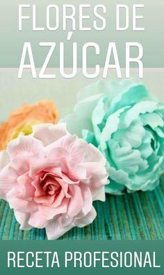 Hoy les comparto cómo hacer pasta para flores de azúcar con la receta profesional además súper fácil y rápido.
