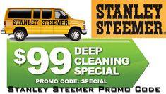Stanley Steemer Specials