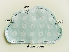How to make a bouquet. Revoluz Zzionary Cute Clouds For Your Flower Bouquet - Step 3