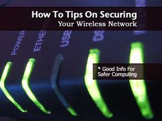 This post has practical tips that you can use to help ensure that your wireless network is secure. Make sure you change the default passwords of any new networks you set up. Wireless networks are used in our homes, out in the garden and in the nursery to send data, emails and images to communicate. …