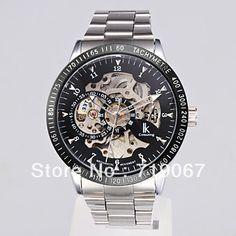 Waterproof Self-Winding Mechanical Silver Wrist Watch on AliExpress.com. $35.41