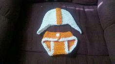 Vols newborn helmet with matching diaper cover