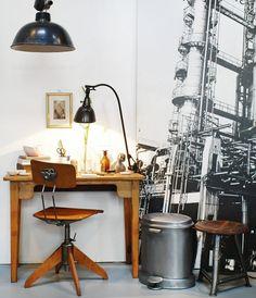 #workplace #workspace #rowac #vintage #midgard #bauhaus #industrial