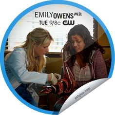 Emily Owens M.D.: Emily and... The Perfect Storm The Cw, Stickers, Tv, Television Set, Decals, Television