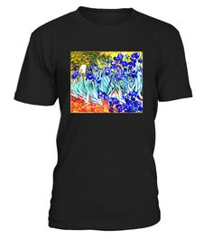 """# Vincent Van Gogh Irises Fine Art Painting T-Shirt .  Special Offer, not available in shops      Comes in a variety of styles and colours      Buy yours now before it is too late!      Secured payment via Visa / Mastercard / Amex / PayPal      How to place an order            Choose the model from the drop-down menu      Click on """"Buy it now""""      Choose the size and the quantity      Add your delivery address and bank details      And that's it!      Tags: Van Gogh Blue Irises Artsy…"""