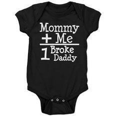 Mommy Plus Me Baby Bodysuit