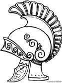 Print Rome # 5 Coloring Pages coloring page & book. Your own Rome # 5 Coloring Pages printable coloring page. With over 4000 coloring pages including Rome # 5 Coloring Pages . Ancient Rome, Ancient Greece, Ancient History, Centurion Romain, Centurion Helmet, Asterix E Obelix, Helmet Drawing, Roman Helmet, Romulus And Remus