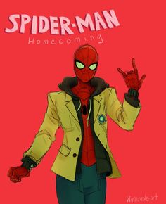 Winter's Art Dump — Hi Spider-man Homecoming was sensational so I made...