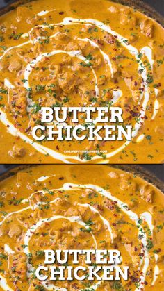 The best butter chicken recipe gives you a rich and creamy gravy that is almost buttery. So easy to make, pure authentic Indian curry. Serve it with rice for a simple weeknight meal. #easydinner #curry #indianfood #spicychicken #dinnerrecipes
