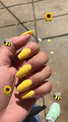 yellow acrylic