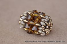 """Click on """"Super Duo Ball"""" below picture for free pdf. ~ Seed Bead Tutorials"""