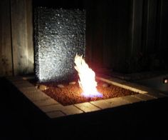 DIY fire and water fountian - MUST DO