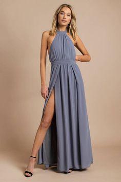 60ab51fe5b Looking for the Tara Light Rose Halter Maxi Dress
