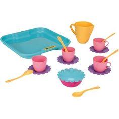 Baba teázó készlet tálcán Measuring Cups, Food, Meal, Measuring Cup, Essen, Measuring Spoons