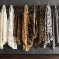 It's that time of year to get cozy under our luxurious faux fur throws! Tap the link in our profile to shop your favorite. They're 20% off now with code HOLIDAY #mywilliamssonoma Faux Fur Throw, Getting Cozy, Warm Colors, Profile, Link, Food, Holiday, User Profile, Comfort Colors