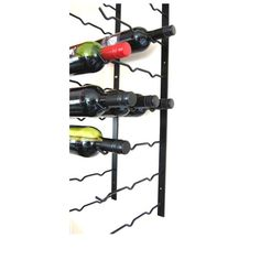 Display your special Wines with pride on our elegant Wine Rack. Wine labels are easy to ready with our horizontal styled layout.