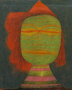 Actor's Mask ~ Paul Klee, 1924 Matisse, Abstract Images, Abstract Art, Paul Klee Art, Oil On Canvas, Canvas Art, Instalation Art, 3d Art, Wassily Kandinsky