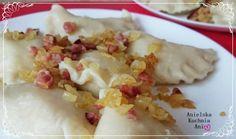 Ciasto na pierogi - najlepszy przepis podstawowy Pierogi, Potato Salad, Potatoes, Cheese, Ethnic Recipes, Food, Chef Recipes, Cooking, Potato