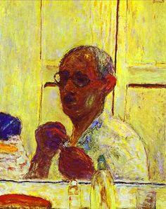 Bonnard, Pierre (1867-1947) - 1944 The Last Self Portrait