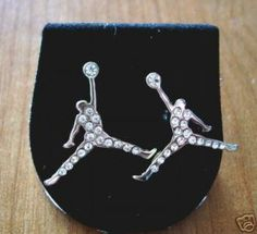 michael jordan earrings!