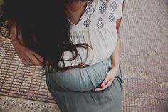 hipster maternity; vancouver photographer, ombre dress, maternity fashion