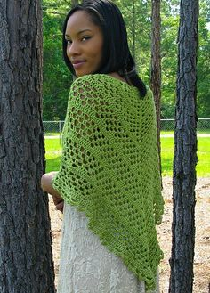 Recommended free patterns on Ravelry - Recomendables patrones gratis en Ravelry / Dixie Charm – A Summer Shawl, de Kathy Lashley. http://www.ravelry.com/patterns/library/dixie-charm---a-summer-shawl