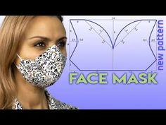 Easy Face Masks, Diy Face Mask, Mens Face Mask, Sewing Patterns Free, Clothing Patterns, Sewing Hacks, Sewing Tutorials, Dress Tutorials, Diy Mask