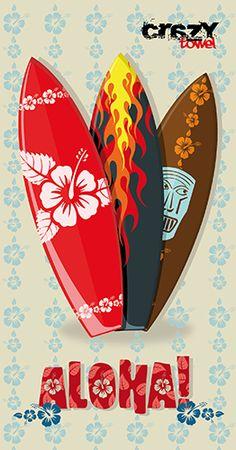 Toalla surf  #toalla de microfibra #toalla estampada #toallas personalizadas.